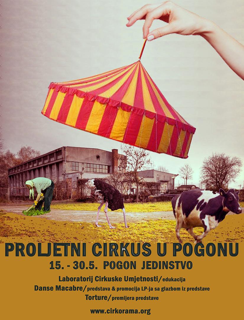 Proljetni cirkus u Pogonu