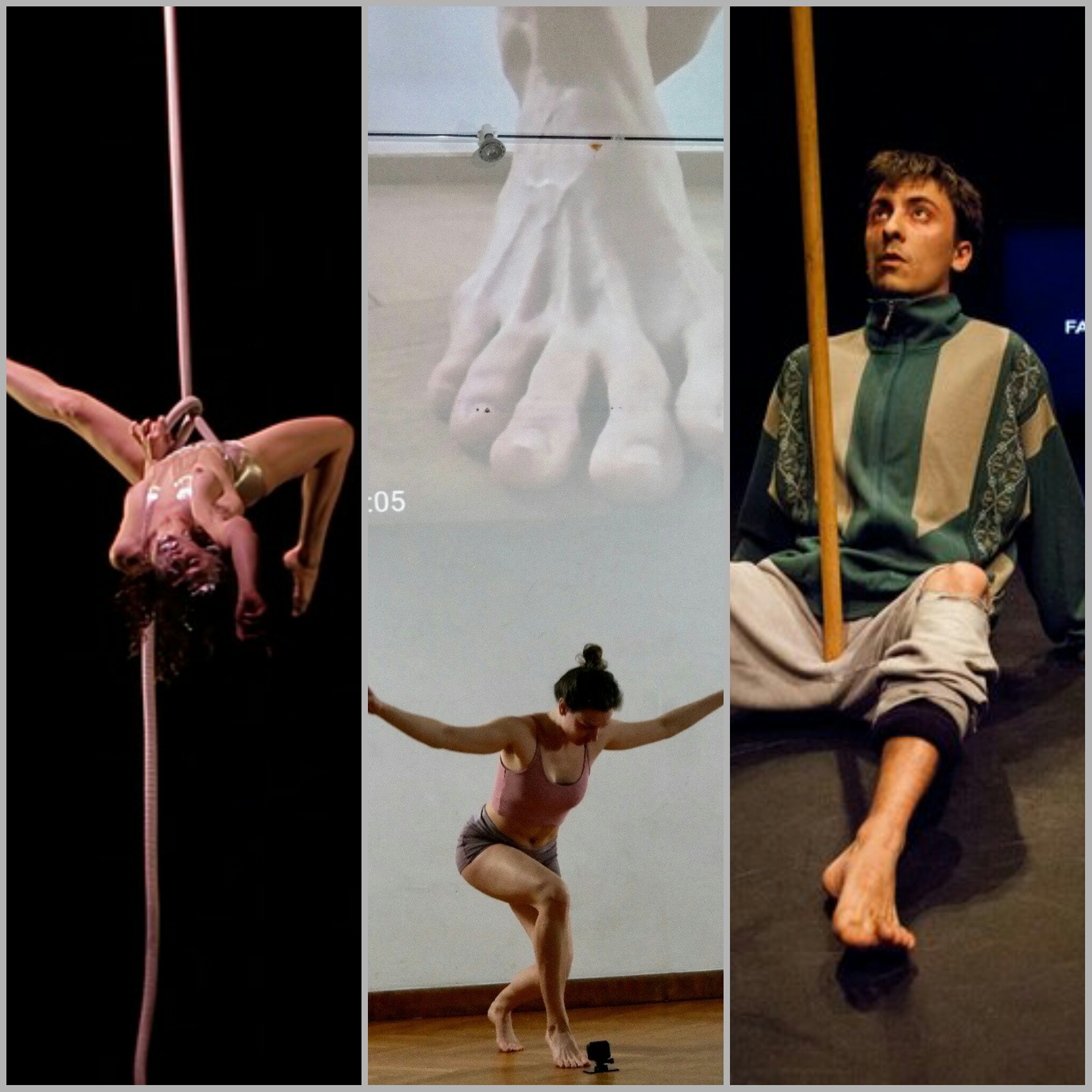 CONTEMPORARY CIRCUS ARTISTS AT THE RESIDENCIES